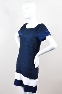 Thread Social short dress Blue Navy White on Tradesy