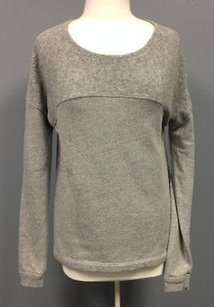 Three Dots Cotton Blend Sweatshirt