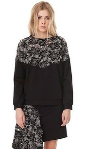 Tibi Blossom Cut Out Long Sweater