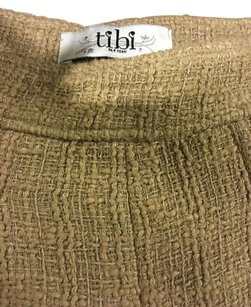 Tibi Dress Shorts Tan Beige