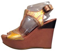 Tibi Gold Wedges