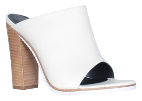 cheap price factory outlet buy cheap for cheap Tibi Leather Open-Toe Slides vKubJOlQl5