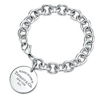 Tiffany & Co. Return To Tiffany & Co. Round Tag Bracelet Sterling Silver