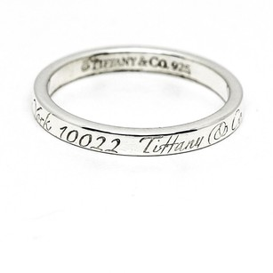 Tiffany & Co. Tiffany & Co. Notes Band in Sterling Silver, Size 9.5