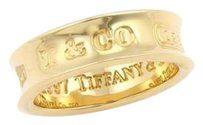 Tiffany & Co. Tiffany Co. 1837 Band Ring In 18k Yellow Gold -