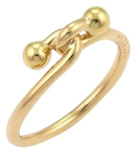 Tiffany & Co. Tiffany Co. 18k Yellow Gold Double Hoop Band Ring -size