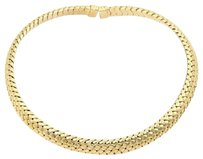 Tiffany & Co. Tiffany Co. 18k Yellow Gold Vannerie Basket Weave Choker Necklace