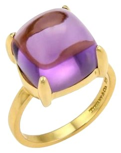Tiffany & Co. Tiffany Co. Paloma Picasso 8.00ct Amethyst Sugar Stack 18k Gold Ring-size
