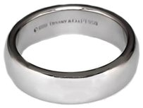 Tiffany & Co. Tiffany & Co., Platinum 950 Men's Wedding Band Ring 4mm Height Size 8