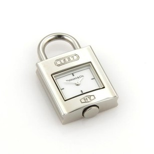 Tiffany & Co. Tiffany Co. 1837 Collection Stainless Steel Quartz Watch Charm Pendant