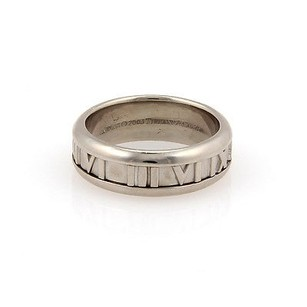 Tiffany & Co. Tiffany Co. 18k White Gold 7mm Atlas Band -