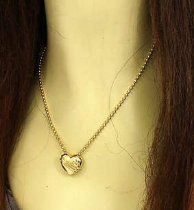 Tiffany & Co. Tiffany Co. 18k Yellow Gold Cupid Arrow Heart Necklace