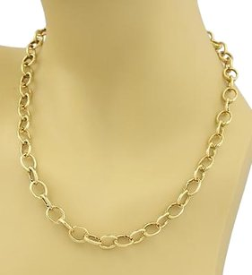 Tiffany & Co. Tiffany Co. Oval All Clasping Link Necklace In 18k Yellow Gold