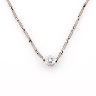 Tiffany & Co. Tiffany Co. Paloma Picasso 18kt White Gold Diamond Pink Tourmaline Necklace