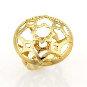 Tiffany & Co. Tiffany Co. Picasso Zellige 18k Yellow Gold Open Round Ring -