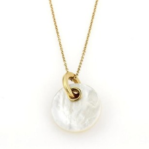 Tiffany & Co. Tiffany Co. Poetry In Motion Mother Of Pearl Pendant Necklace In 18k Gold