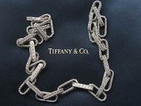 Tiffany & Co. Tiffany Co 18kt Rope Diamond White Gold Necklace 1.80ct