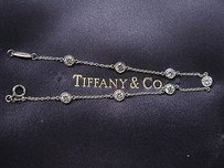 Tiffany & Co. Tiffany,Co,Plat,Elsa,Peretti,Diamond,By,The,Bracelet,1.26ct
