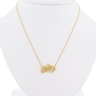 Tiffany & Co Tiffany,Co,Triplo,Cuore,Pendente,Con,Diamante,18k,Oro,Donna,Collana