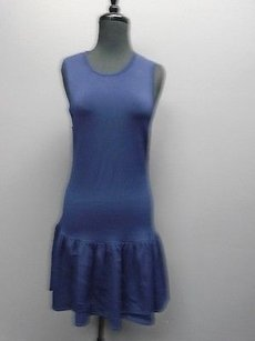 Tildon Stretchy Sleeveless Gathered Skirt Solid Crew Neck 2337a Dress