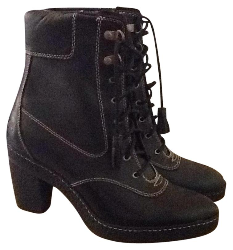 timberland black heel boots boots booties on sale