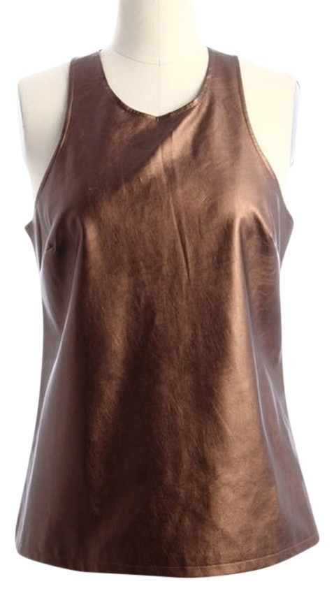 tinley road copper bronze coated tank top  cami size 12  l