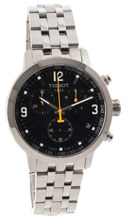 Tissot Tissot PRC 200 Black Chronograph Quartz Sport Men's watch #T055.417.11.057.00