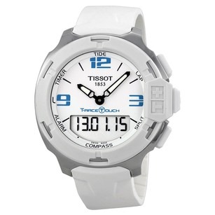 Tissot TISSOT T-Race Touch White Analog Digital Dial, T0814201701701