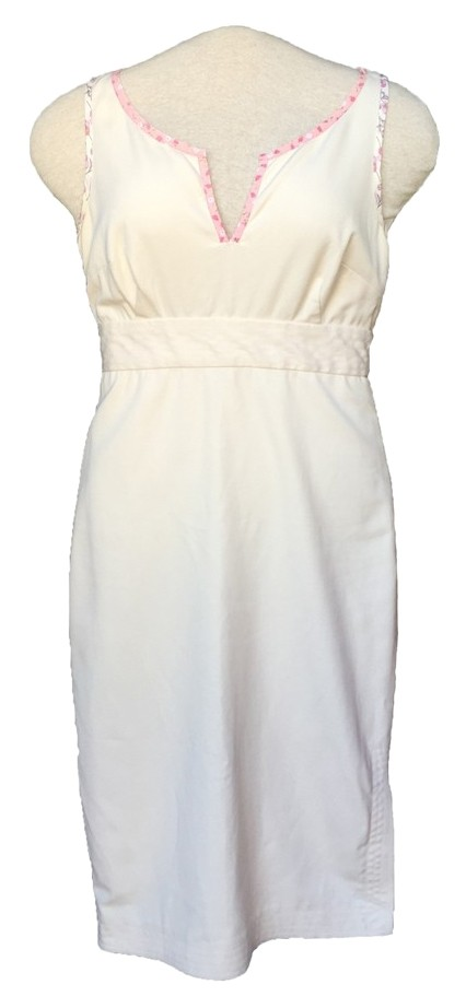 Tocca Cream Sheath Dress - 80% Off Retail