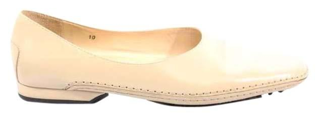 Tod's Flats Cream Designer Leather Loafers Flats Tod's Size US 10 Regular (M, B) 967b9c