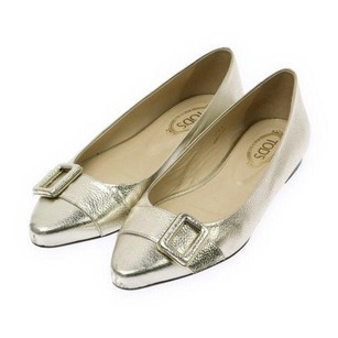Tod's Gold Pumps