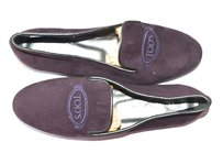 Tod's Tods Tods 6 PURPLE Flats