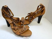 Tod's Tods Italy Saddle Brown Sandals