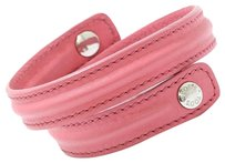 Tod's Tod's Pink Leather Bracelet