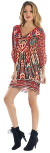 Tolani short dress multi on Tradesy