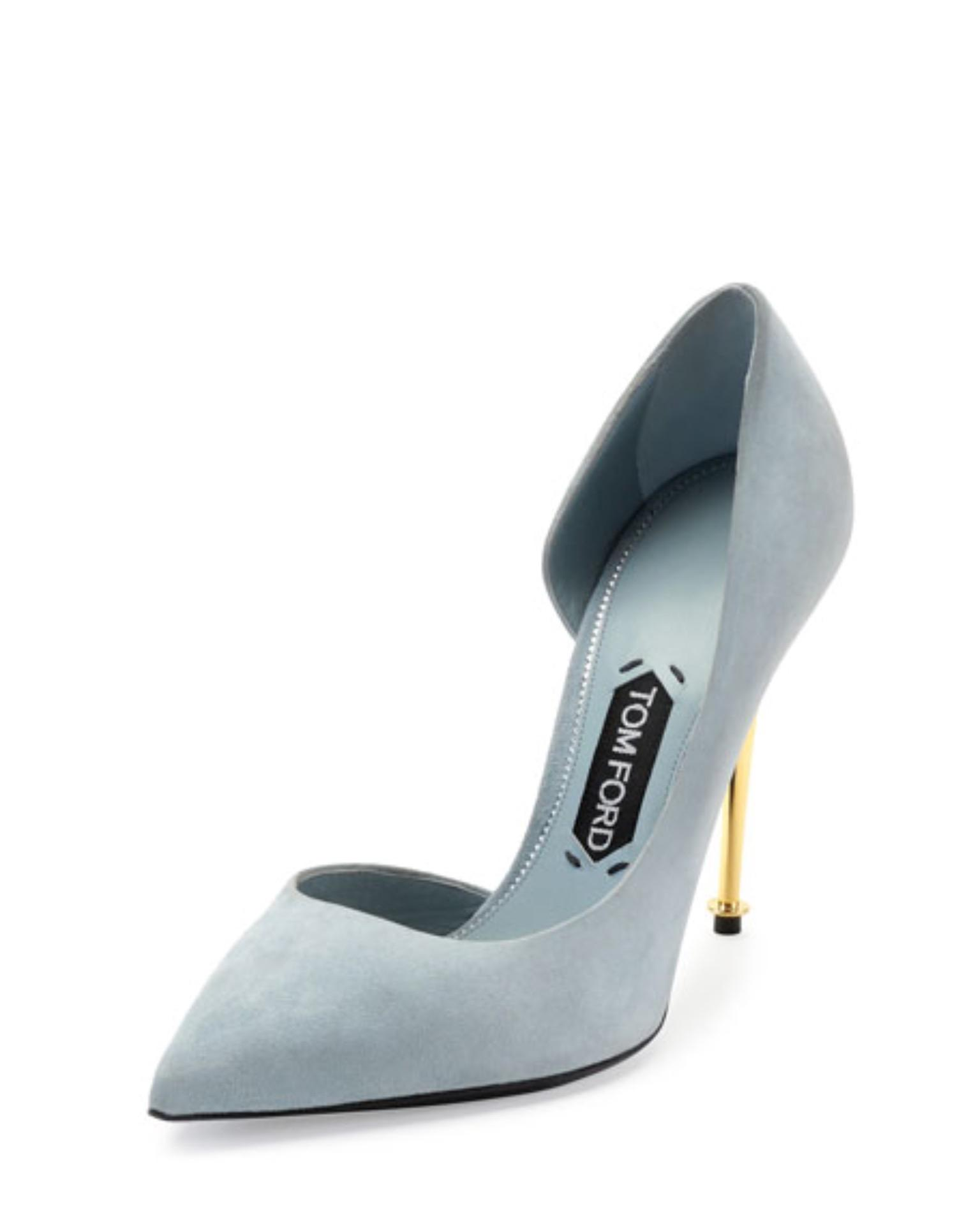 Tom Ford Suede D'Orsay Pumps popular sale online YhELb