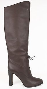 Tom Ford Baggy Leather Brown Boots