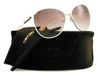 Tom Ford Tom Ford Women Beige 59mm Sunglasses