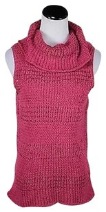 Tommy Bahama Womens Cowl Neck Sleeveless Knit Sweater