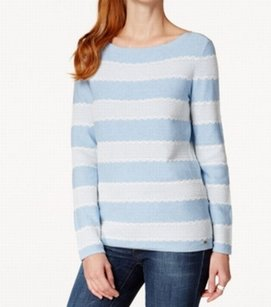 Tommy Hilfiger 100% Cotton 7661603 Boat Neck Sweater