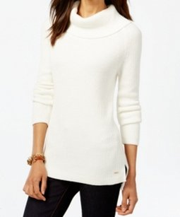 Tommy Hilfiger 100% Cotton 7661676 Cowl Neck Sweater