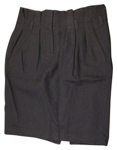 Tommy Hilfiger Pencil Wool Skirt Blue