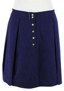 Tommy Hilfiger Womens Polyester Blend Skirt blue