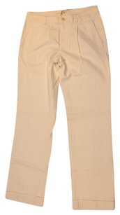 Tommy Hilfiger Pleated Trouser Pants Ivory