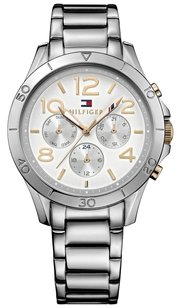 Tommy Hilfiger Tommy Hilfiger Women's 1781526 Sophisticated Sport Analog Display Quartz Silver Watch