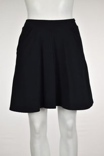 Topshop Womens A Line Above Knee Casual Skirt Black