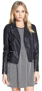 Topshop Blac Leather Jacket