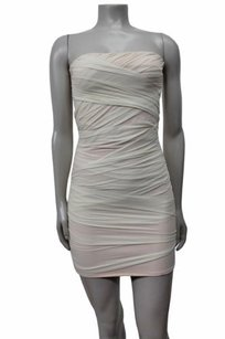 Topshop Bandage Strapless Dress