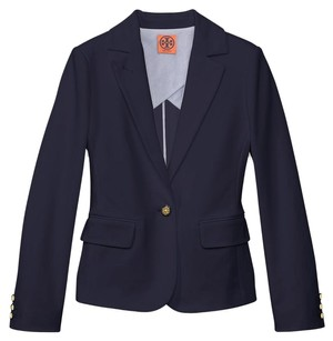 Tory Burch 28142500 Med Navy Womens Jean Jacket