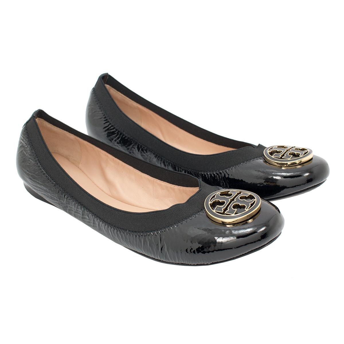 TORY BURCH LIANA BALLET FLAT. $ BUY ON STORE; CREATE SALE ALERT; Details; A feminine slipper with the shimmer of a pavé-crystal logo. The Liana Ballet Flat can add an instant festive spark to any look. TORY BURCH ELEANOR FLAT $ BUY AT TORY BURCH. TORY BURCH FLEMING BELT BAG $ BUY AT TORY BURCH. TORY BURCH GREER MINI.